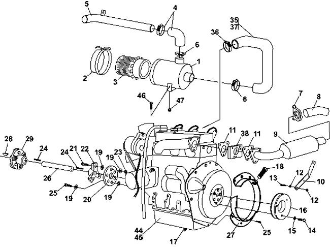 B6100 Kubota Engine Diagram