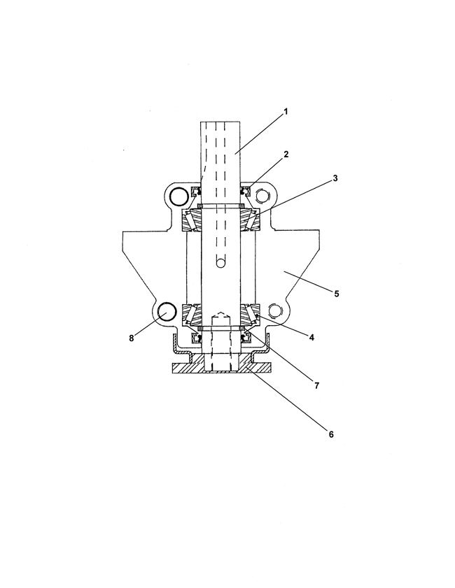 48124 75 71002 rotary mower 60, flip up mx460 (steiner) \u003e spindle parts